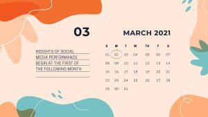 social media manager's month